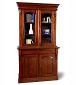 Librero 2 puertas Clasico Victoriano Keen Replicas