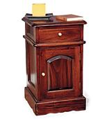 Mesita Noche 1 cajón 1 puerta Victoriana