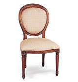 Silla Clásica Francesa Oval - Sillas y Sillones Clásicos - Muebles Clásicos