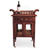 Carro de Licores Clásica Victoriano  - Muebles Bar Clásicos y Licoreras - Muebles Clásicos