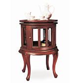 Licorera redonda Colonial  - Muebles Bar Clásicos y Licoreras - Muebles Clásicos
