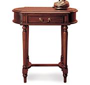 Mesa auxiliar oval Clásica Victoriana