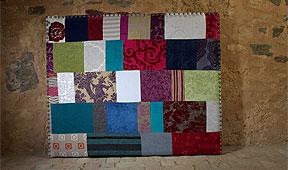 Cabecero patchwork recto