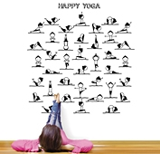 Vinilo happy yoga
