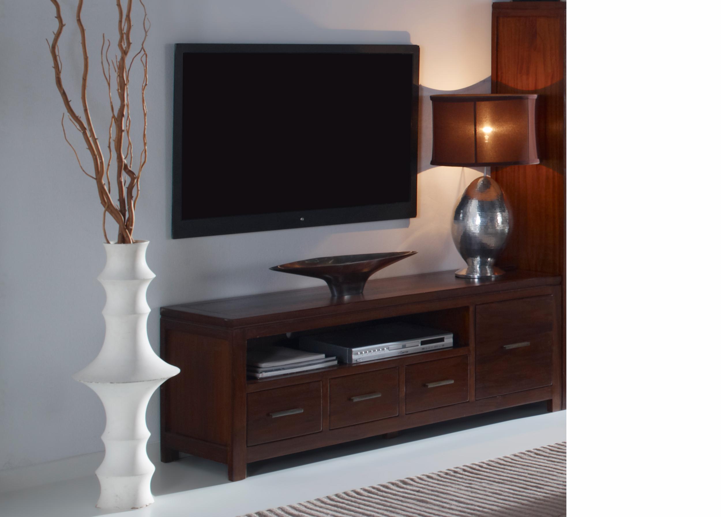 mueble tv colonial fichero - Muebles De Television