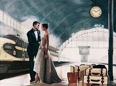 Cuadro canvas love journey - Cuadros serigrafiados - Objetos de Decoración