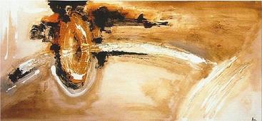 Cuadro abstracto veladura 08