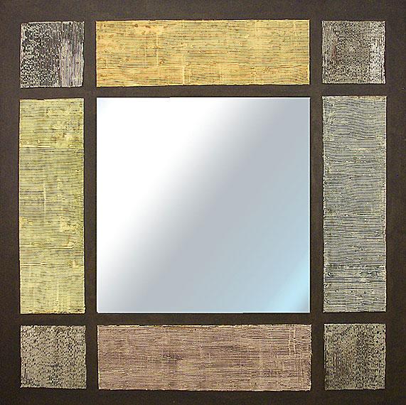 Espejo artesanal cuadros y rectangulos en - Cuadros de espejo ...