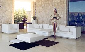 Sofá de jardín Vela