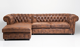 Sofá con chaise longue izquierda Vintage Ford