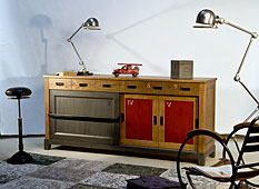 Aparador vintage industrial Big Sirius