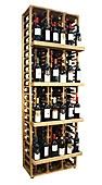 Botellero expositor capacidad 120 botellas
