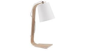 Lampara de escritorio PERCY blanca - Lámparas de Escritorio - Objetos de Decoración