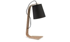 PERCY Lampara De Mesa Pant.negra J01 - Lámparas de Escritorio - Objetos de Decoración