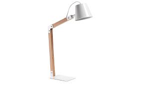 Lampara de escritorio blanca ANDRA  - Lámparas de Escritorio - Objetos de Decoración