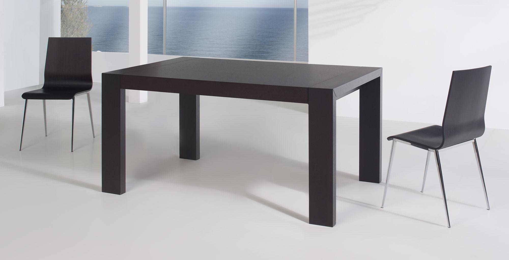 Mesa de comedor extensible moderna oscar en cosas de for Mesa extensible diseno