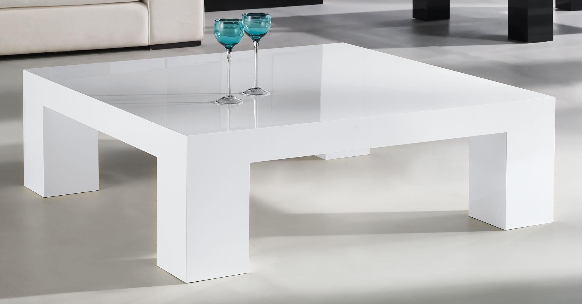 mesa de centro moderna flap en cosas de arquitectoscosas On mesas modernas blancas