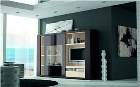 Mueble de salón compacto Exclusive
