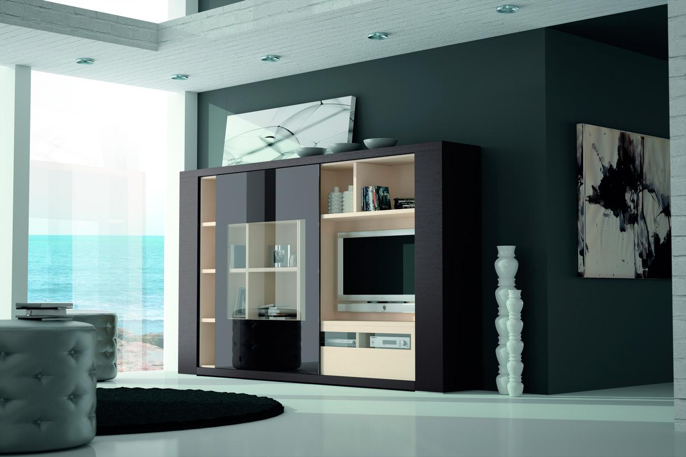 Mueble de sal n compacto exclusive de lujo en - Portobello street muebles ...
