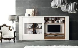 Mueble de tv compacto Exclusive