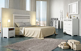 Dormitorio nórdico Domaine