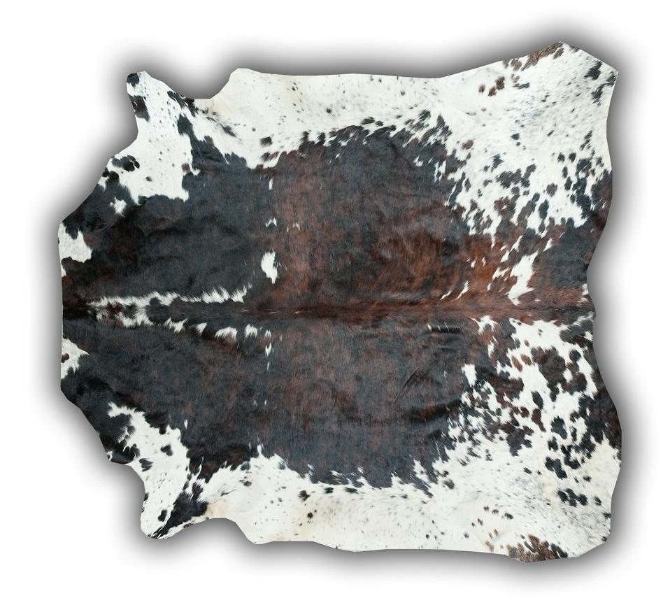 Alfombra de piel toro normando pequeña