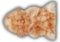 Piel de Mouton de puntas marrones