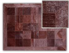 Alfombra piel toro mod Astrakan marrón