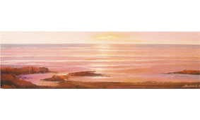 Cuadro marina amanecer