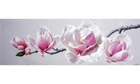 Cuadro flor magnolia II