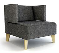 Butaca con brazos Moderna Urban - Butacas de Diseño - Muebles de Diseño