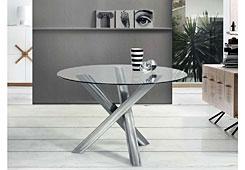 Mesa de comedor Moderna trípode