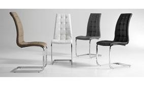 Silla Winter en color gris - Sillas y Sillones de Diseño - Muebles de Diseño