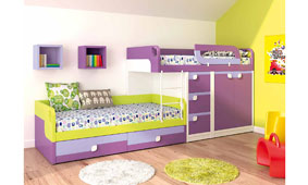 Dormitorio litera tren no disponible en - Muebles tren infantil ...