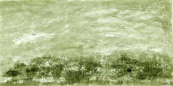 Cuadro acrílico abstracto