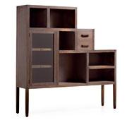 Librería 2 cajones Colonial Spartan - Librerías Coloniales y Rústicas - Muebles Coloniales y Muebles Rústicos