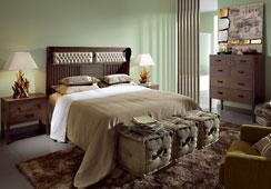 Dormitorio Colonial Spartan