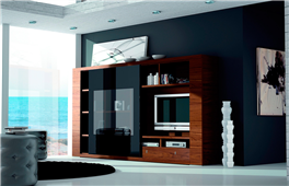 Mueble salón compacto moderno Exclusive