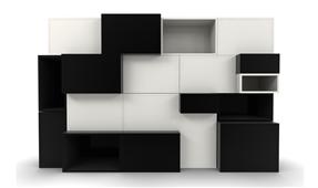 Librería Modular Cuadram L6