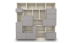 Librería Modular Cuadram L8