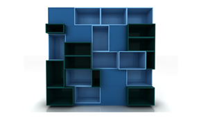 Librería Modular Cuadram L7