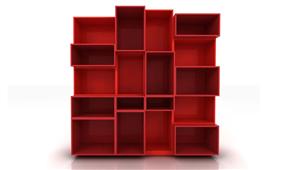 Librería Modular Cuadram L5