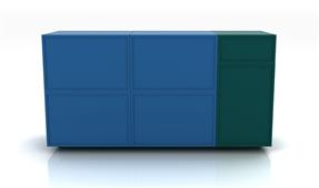Aparador modular Cuadram A2