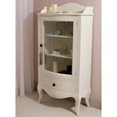Vitrina 1 cajón blanca Vintage París - Vitrinas Vintage - Muebles Vintage