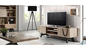 Mesa TV madera Tiva