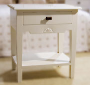 Mesita de noche 1 cajón Vintage Monaco - Mesas de Noche Vintage - Muebles Vintage