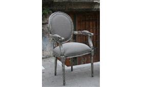 Sillón ANDREA respaldo tapizado - Sillas y Sillones Vintage - Muebles Vintage