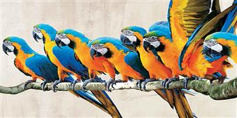Cuadro canvas ara parade - Cuadros serigrafiados - Objetos de Decoración