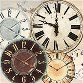 Cuadro canvas timepieces II - Cuadros serigrafiados - Objetos de Decoración