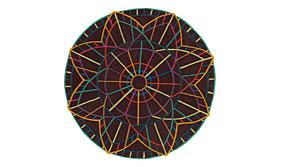 Alfombra Circular Portofino Multi II